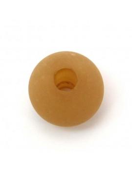 Perle polaris mat 18 mm camel