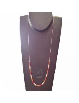 Sautoir perles Heishi...
