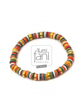 Bracelet perles Heishi...