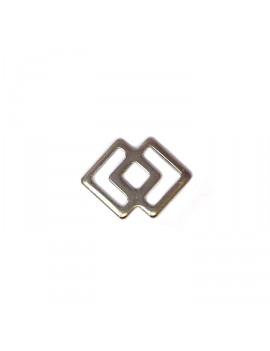 Double carré acier inox...