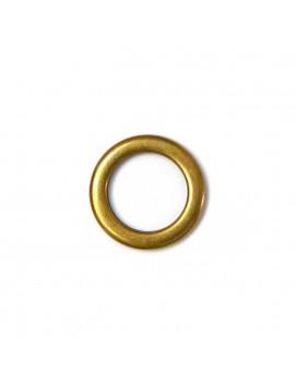 Anneau fermé bronze 18 mm