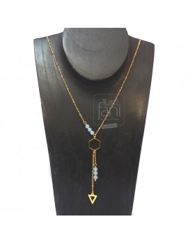 Collier fin formes...