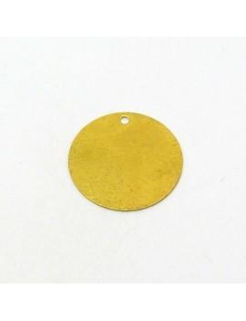 Sequin lisse doré 18 mm
