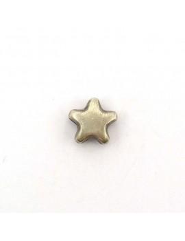 Perle étoile argent vieilli...