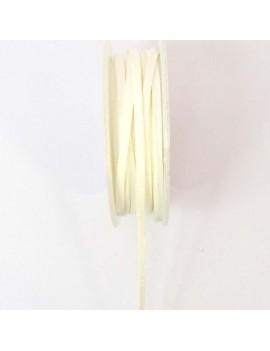 Daim 3 mm blanc - 50 cm