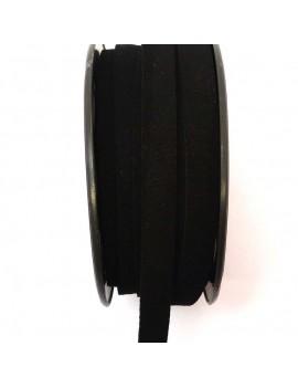 Daim 10 mm noir - 50 cm