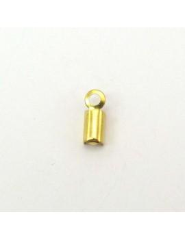 Serre-fils lisse 3 mm doré