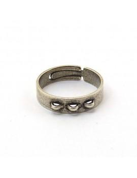 Bague à breloques 3 anneaux...
