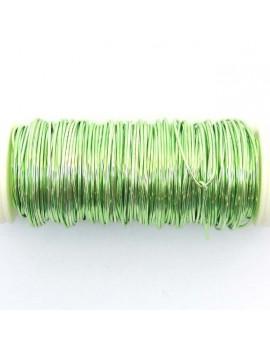 Fils de cuivre0,5 mm vert...