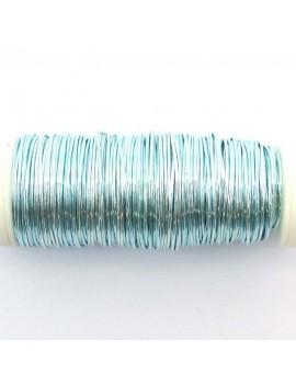 Fils de cuivre 0.5 mm bleu...