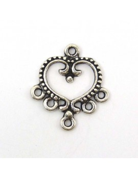 Multi-rangs coeur 20x22 mm...