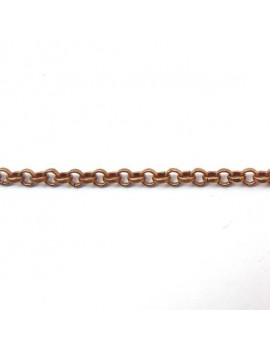 Chaine maille ronde 3 mm...
