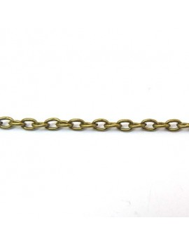 Chaine maille ovale 2x3 mm...