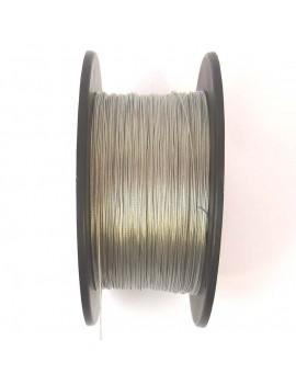 Câble métallique argent...