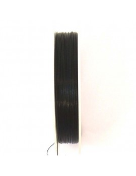 Câble métallique noir 0,35...