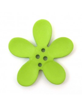 Bouton orchidée 40 mm vert...
