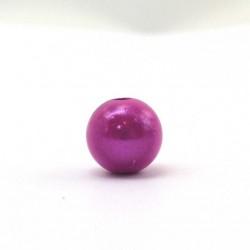 Perle magique 6 mm fuchsia