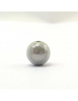 Perle magique 8 mm blanc