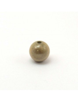 Perle magique 8 mm beige