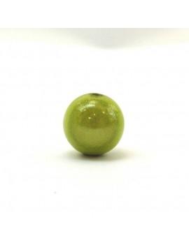 Perle magique 14 mm vert pomme