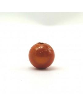 Perle magique 18 mm orange