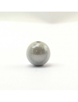 Perle magique 18 mm blanc