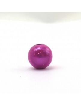 Perle magique 12 mm fuchsia