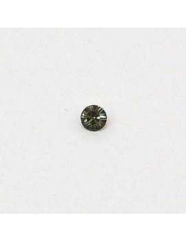 Strass conique 3 mm black...