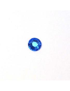 Strass plat 4 mm sapphire...
