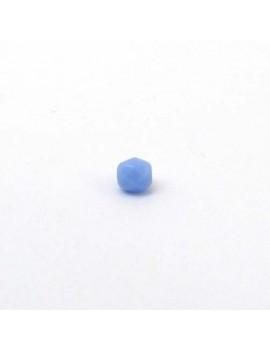 Perle à facettes bleu...