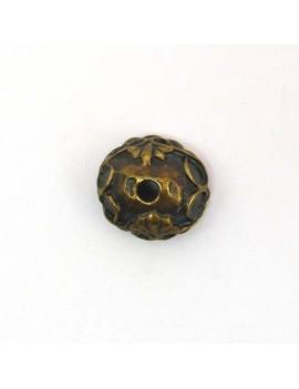 Calotte baroque bronze 13 mm