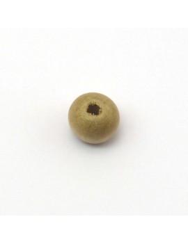 Perle bois naturel 10 mm