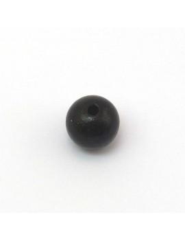 Perle bois noir 12 mm