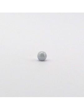 Perle ronde grise marbrée 4 mm