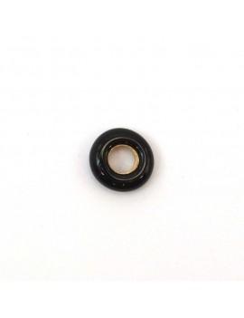 Anneau noir 9 mm