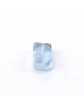 Perle cube violet 9x11 mm