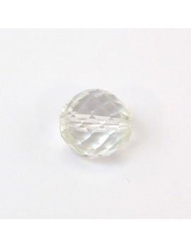 Perle à facettes cristal 12 mm