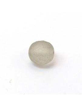 Perle à facettes gris mat...