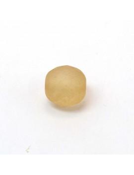 Perle à facettes ambre pâle...