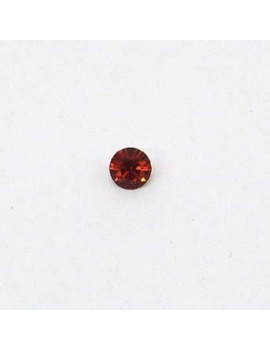 Strass conique 3 mm Topaz...
