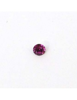 Strass conique 3 mm fuchsia...