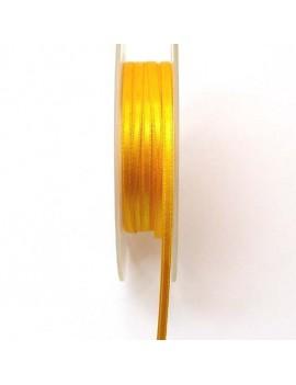 Ruban de satin 3 mm jaune...