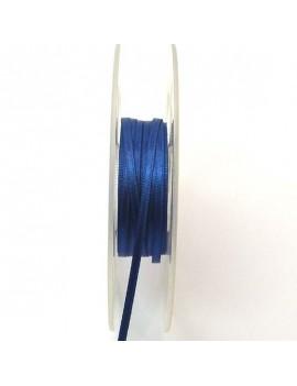 Ruban de satin 3 mm bleu...