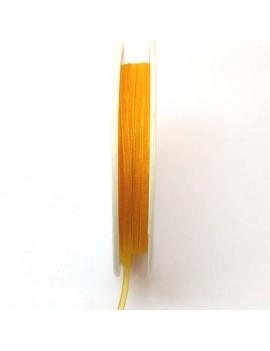 Ruban organdi 3 mm orange -...