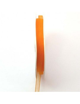 Ruban organdi 6 mm orange -...