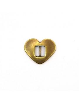 Passant coeur lisse 20 mm...
