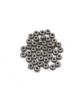 Rocailles 4/0 - 5 mm gris...