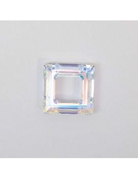 Carré évidé Crystal AB U 20 mm