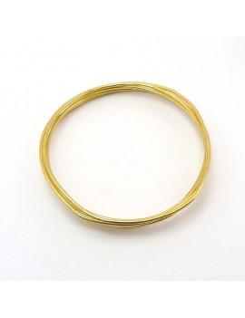 Fils aluminium doré 2 mm -...
