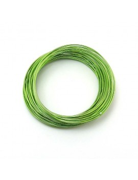 Fils aluminium vert 1,5 mm...